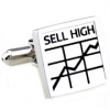 Sliver buy and sell cufflinks